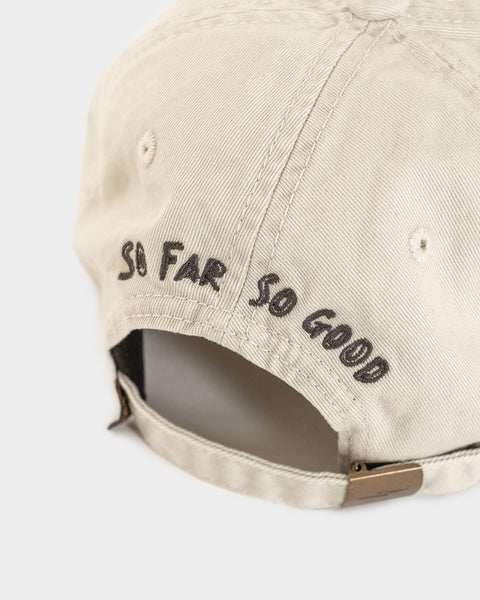 So Far So Good Stone 6 Panel Cap