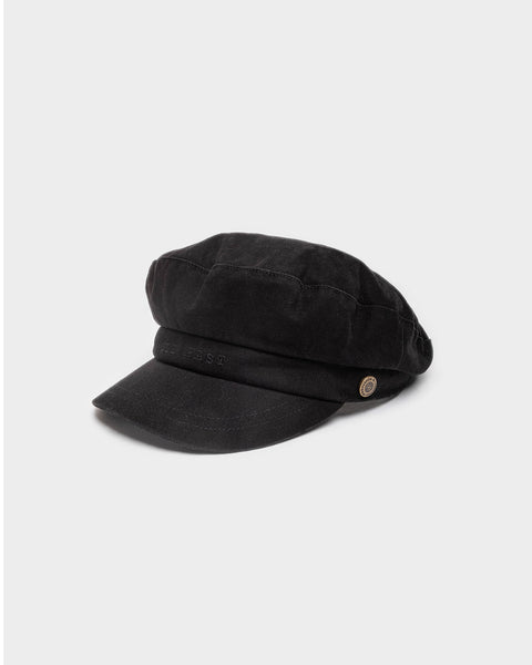 Black Baker Boy Cap
