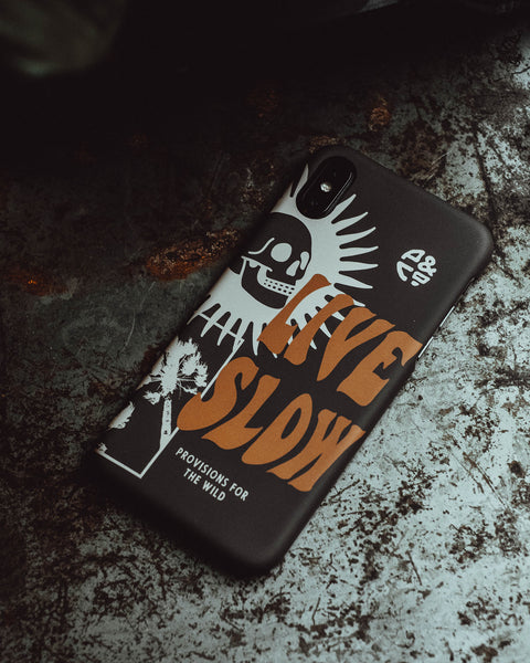 Live Slow Black Iphone Case