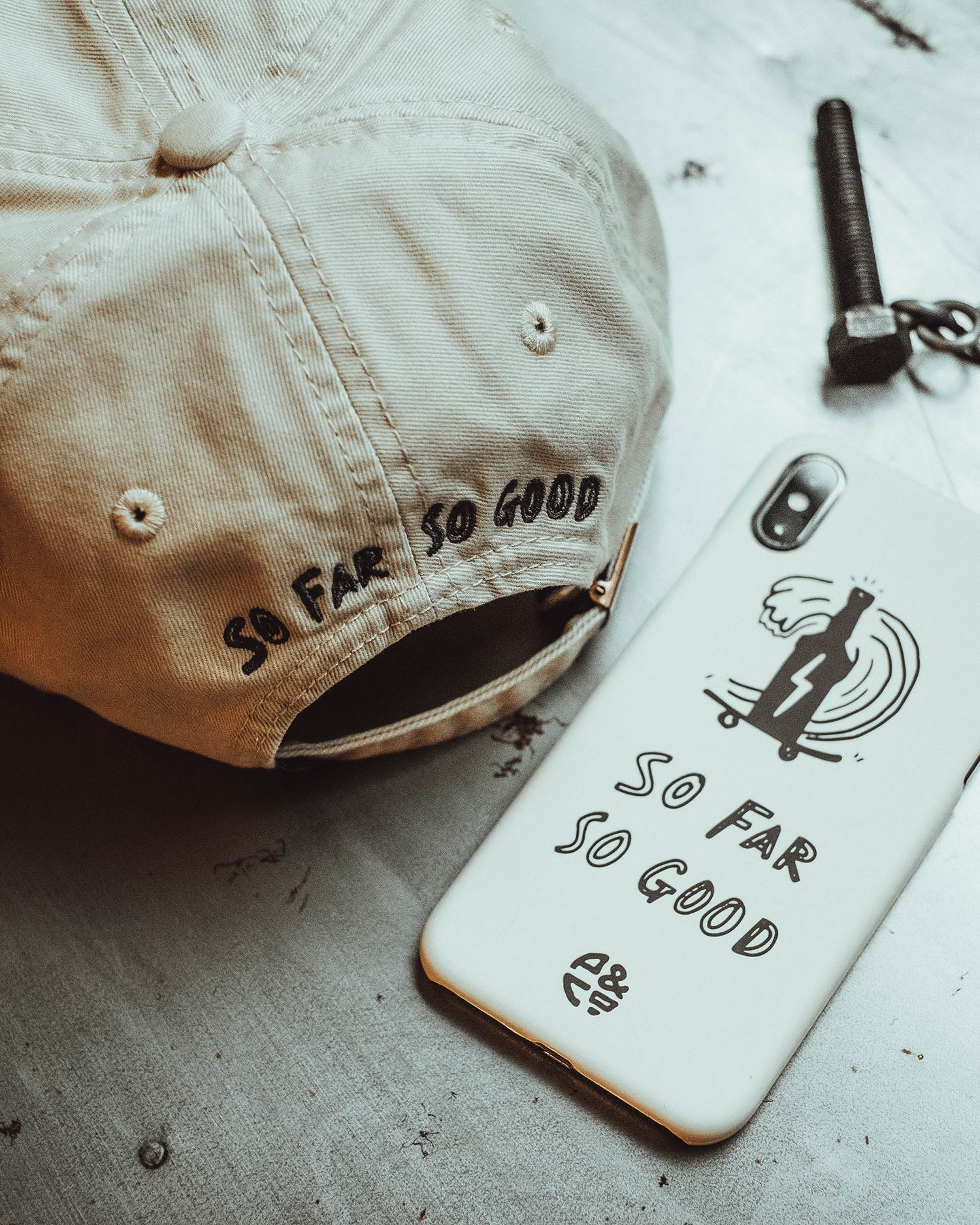 So Far So Good Iphone Case - Rustic Lifestyle