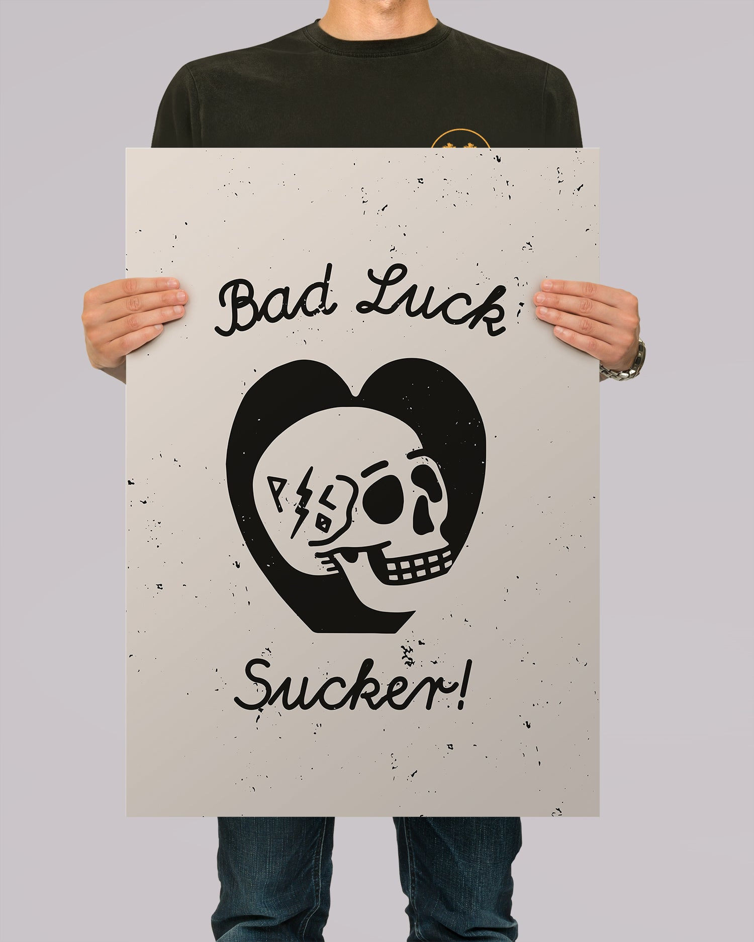 Bad Luck A2 Artwork Print