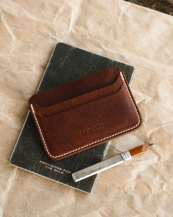 Fifty Fifty Leather Cardholder