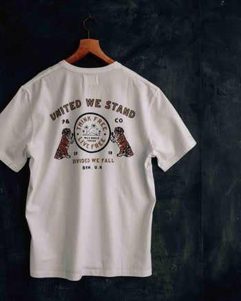 United We Stand Graphic T-shirt by P&Co