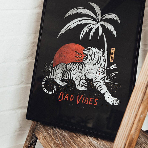 Bad Vibes A3 Artwork Print