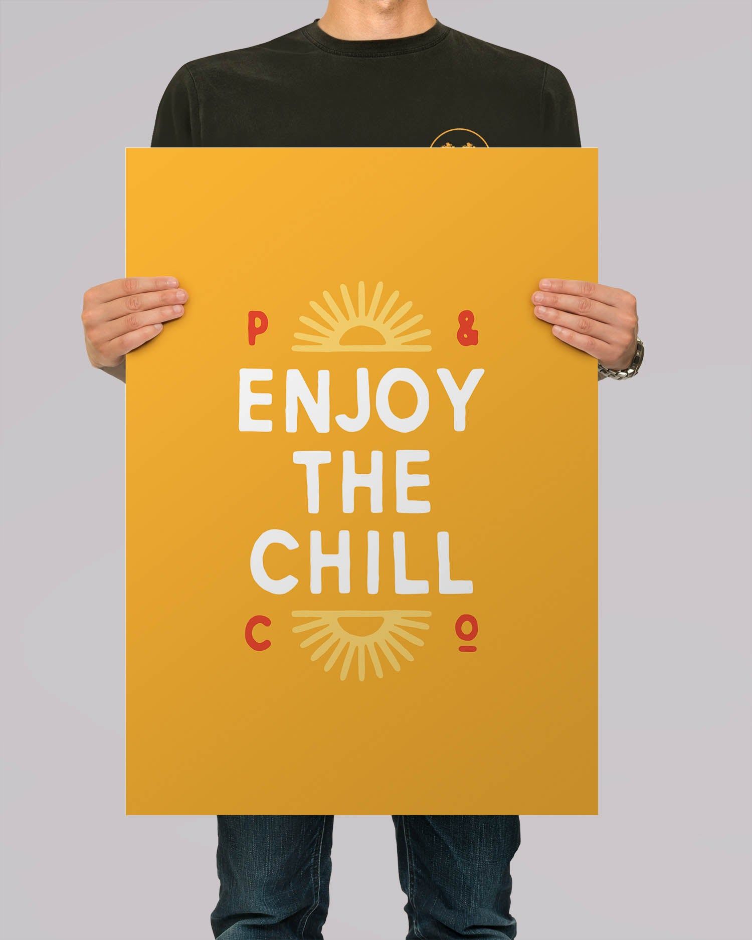 Enjoy The Chill A2 Artwork Print Homeware