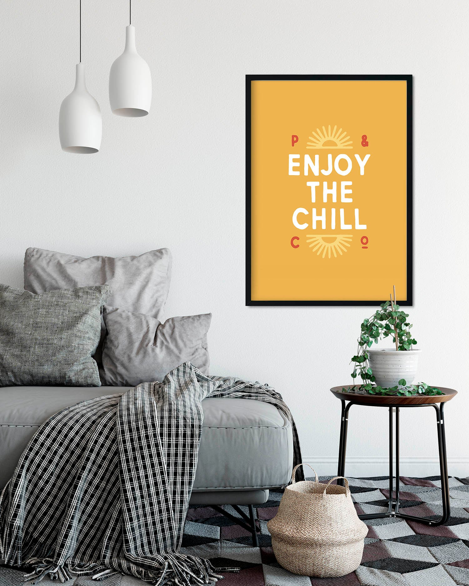 Enjoy The Chill A2 Artwork Print