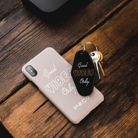 P&Co - Good Vibes Only Iphone Case 7/7+, 8/8+, X - Provision & Co