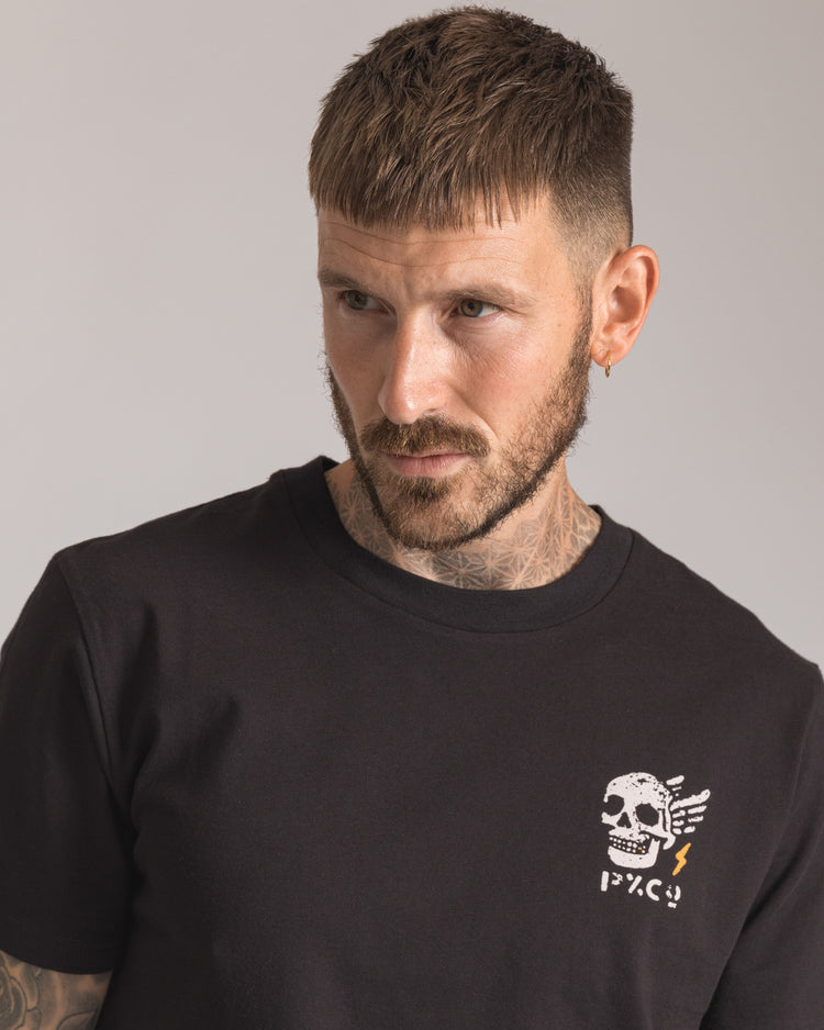 Mens Til Death do us ride Black Short sleeve Tee