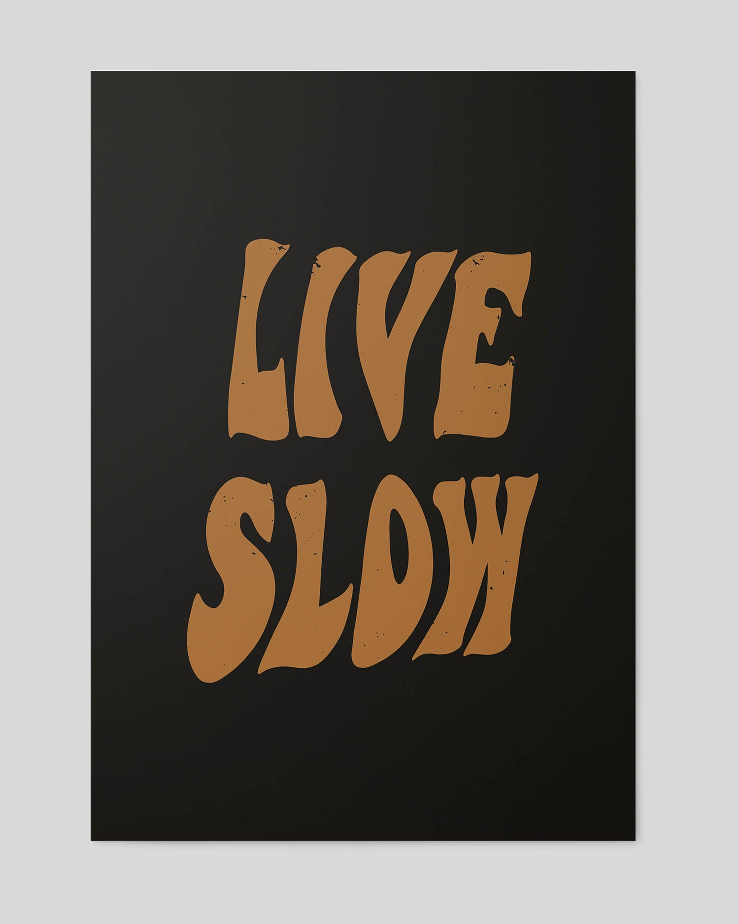 Live Slow A2 Artwork Print