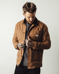 Outpost Waxed Canvas Jacket - Tan