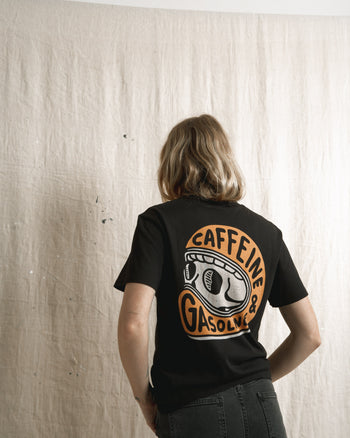 caffeine rider graphic t-shirt by P&Co