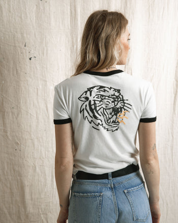 Tiger Bolt Ringer T-Shirt