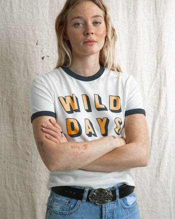 Wild Days Ringer T-Shirt