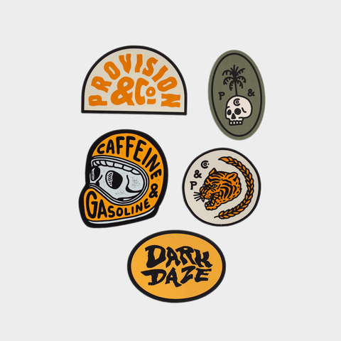 Dark Daze Sticker Pack