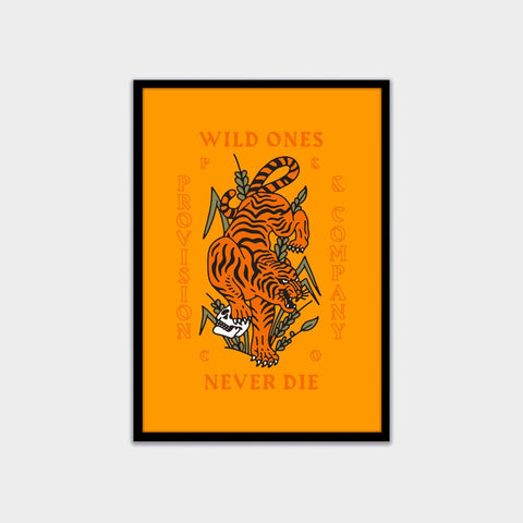 Provision Tiger A3 Artwork Print