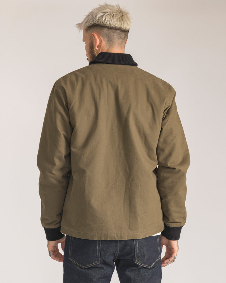 Shawl Bomber Jacket