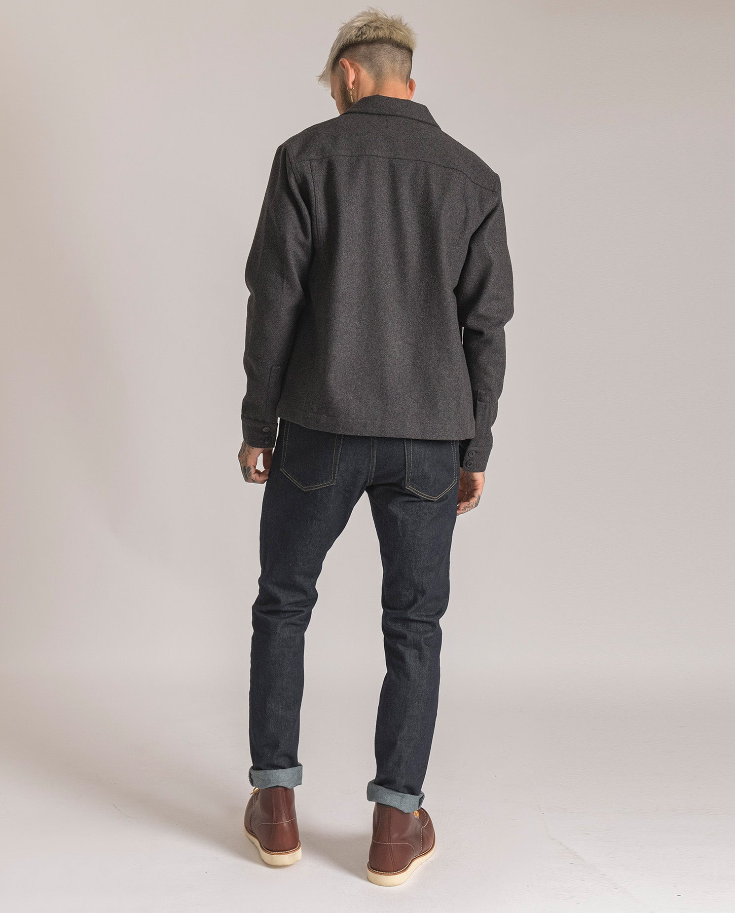 Wool Overshirt