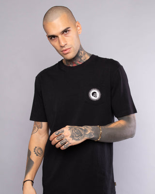 Live Slow Mens Pocket Printed Tshirt