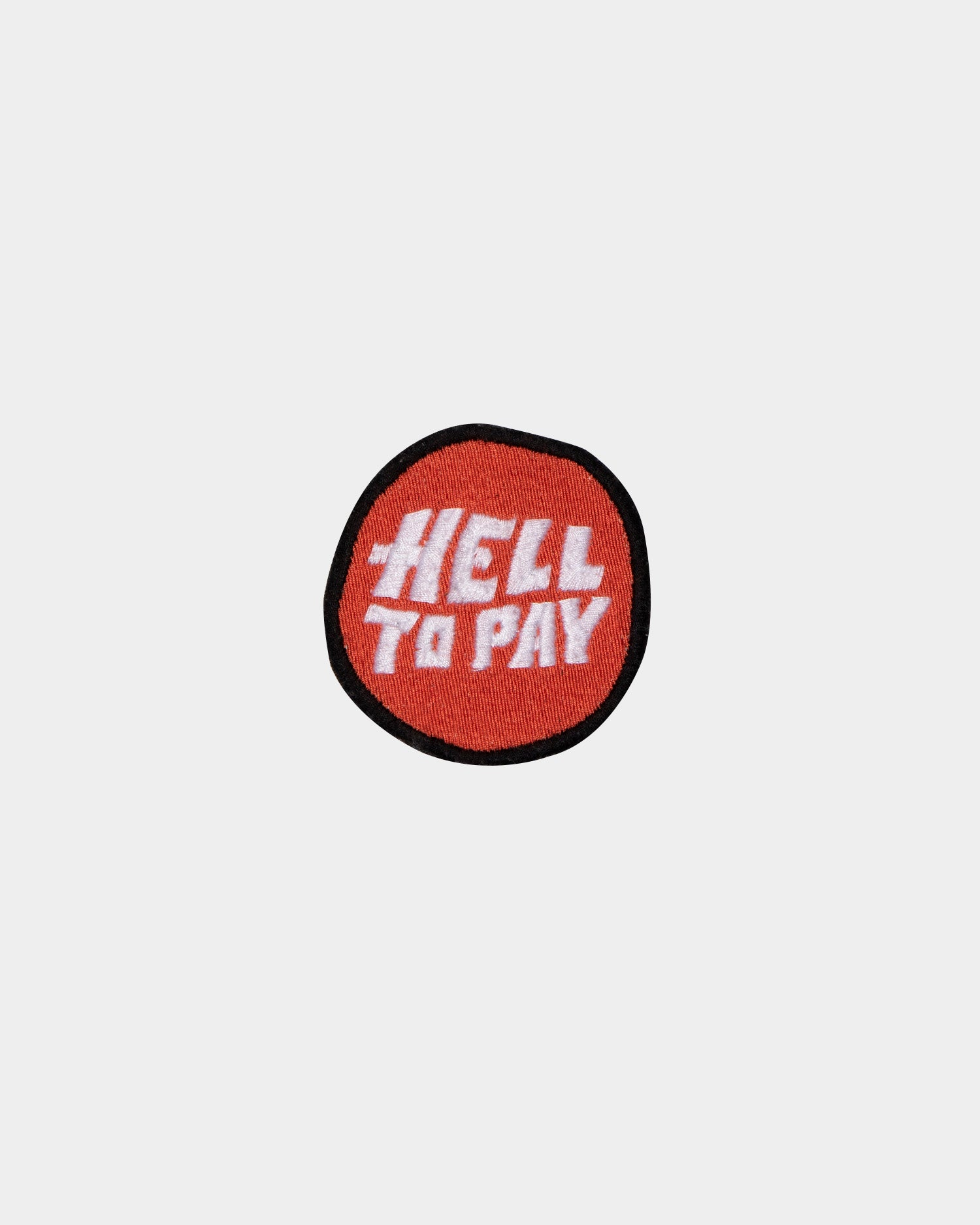 Hell to pay red patch