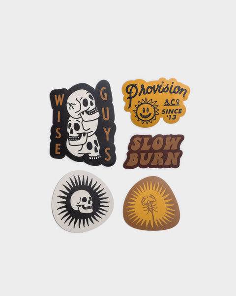 Slow Burn Sticker Pack