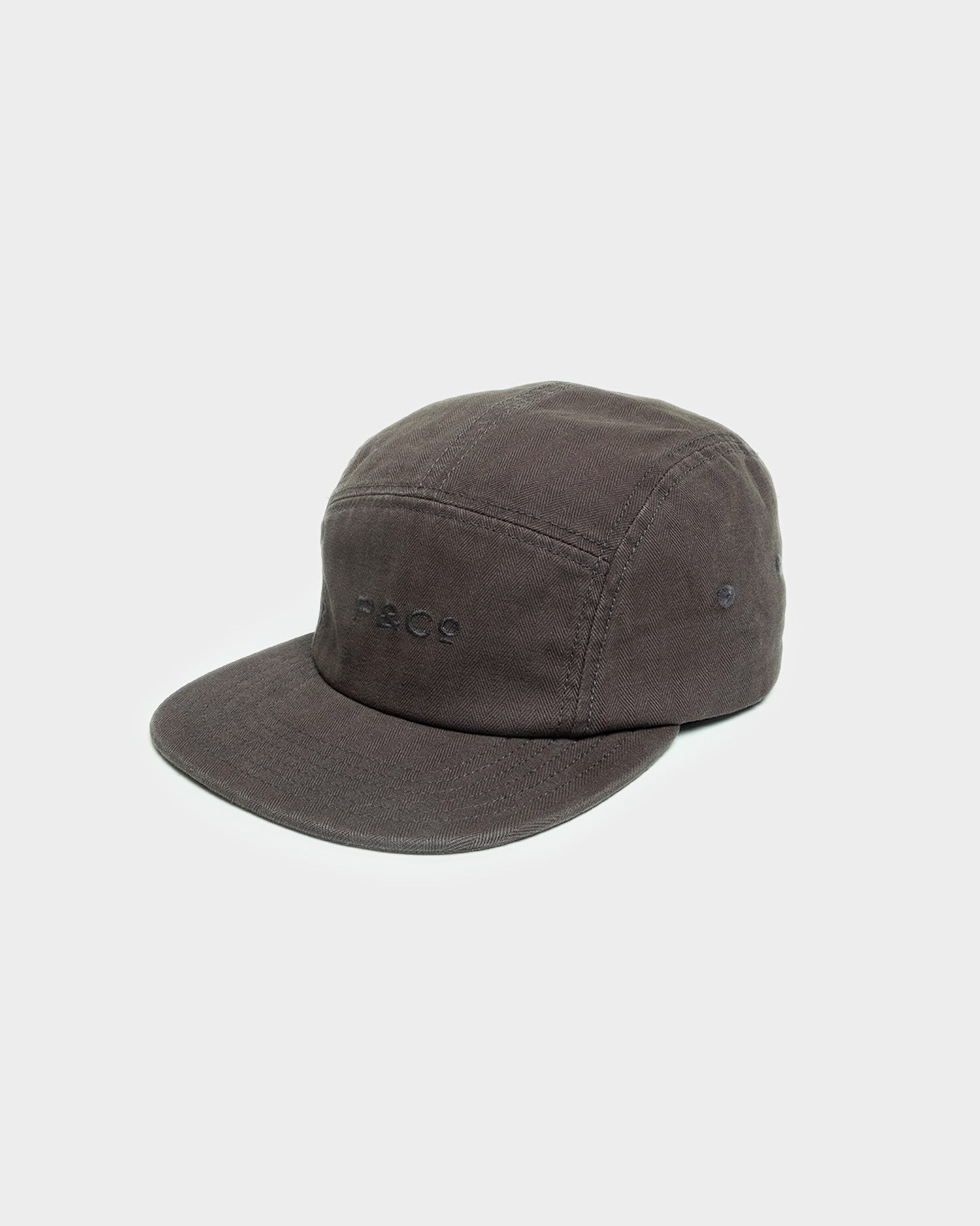 Hold Fast Charcoal 5 Panel Cap