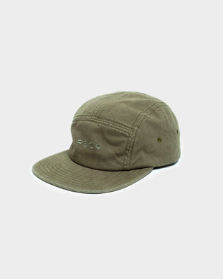 Hold Fast Olive Embroidered 5 Panel Cap