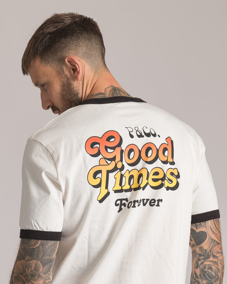 Good Times Ringer T-Shirt