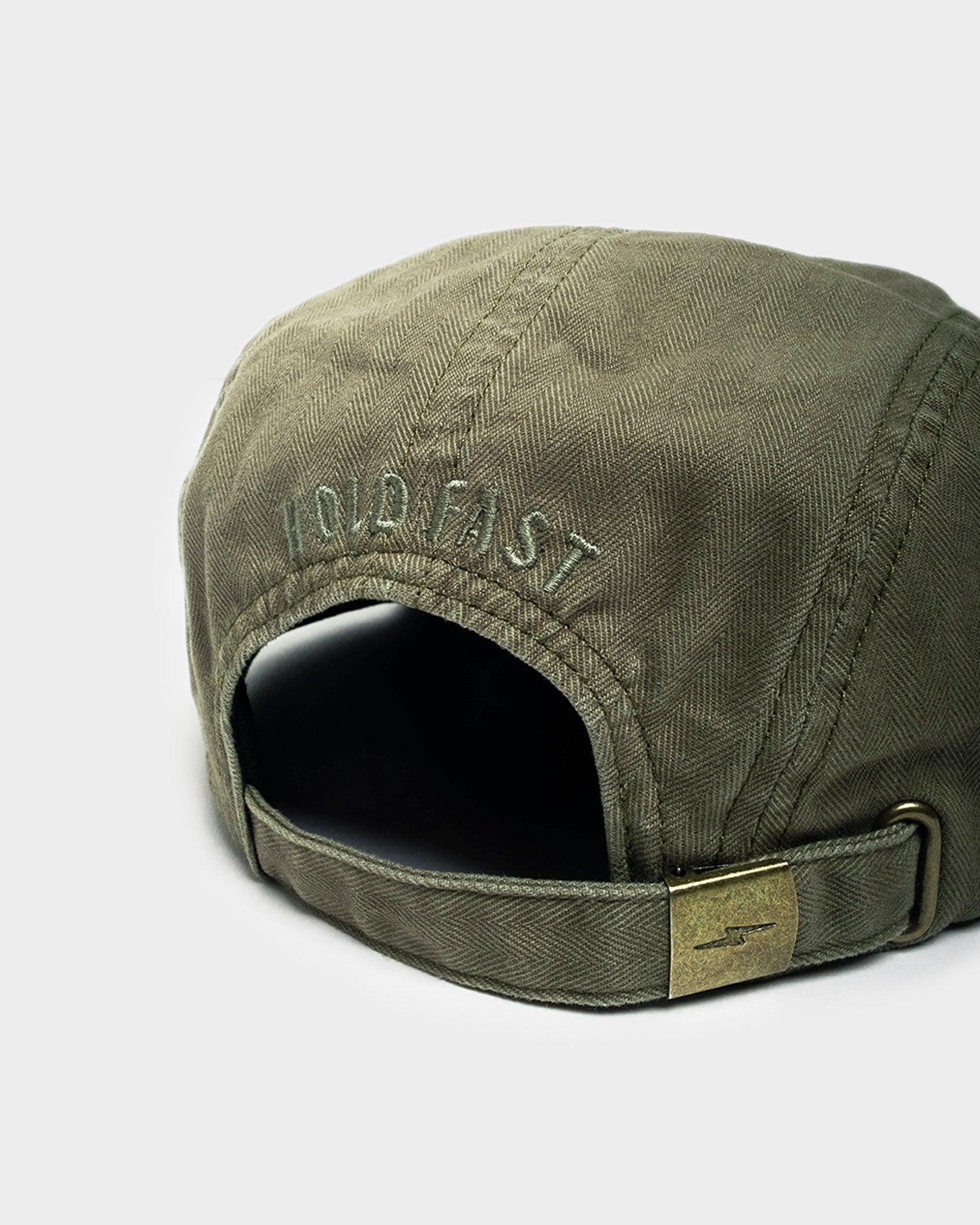 Hold Fast Olive 5 Panel Cap
