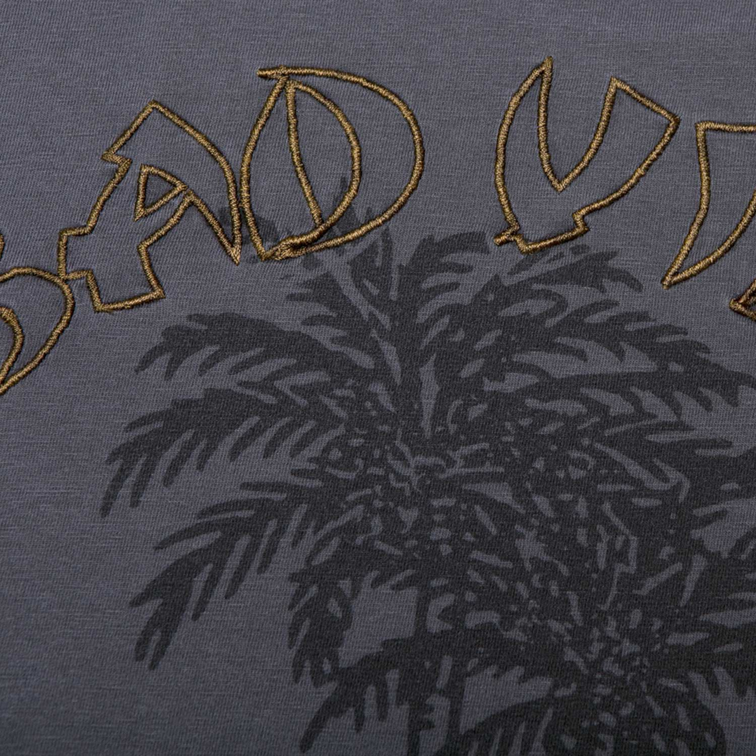 P&Co - Black Womens T-Shirt Bad Vibes - Provision & Co