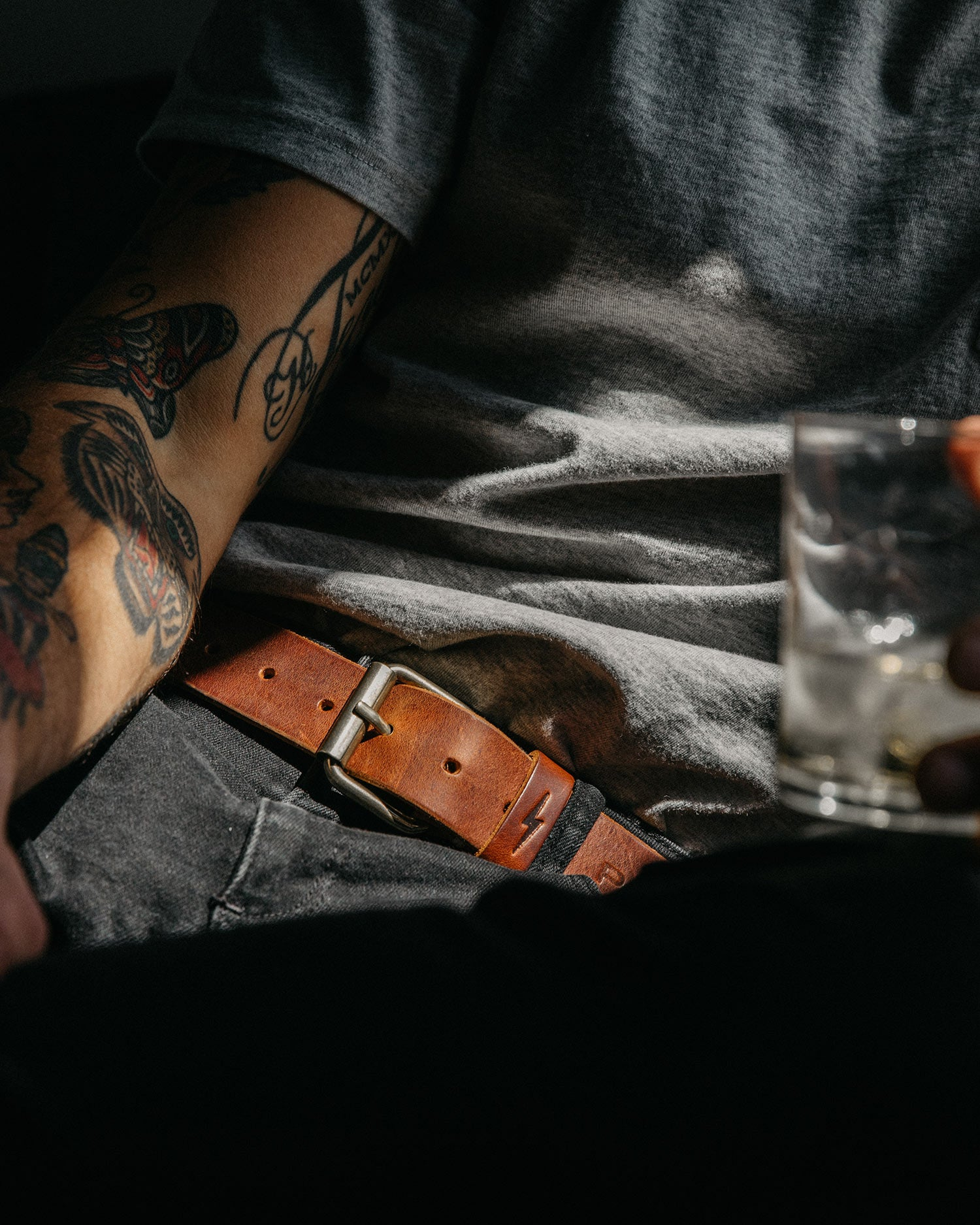 P&Co Leather Belt