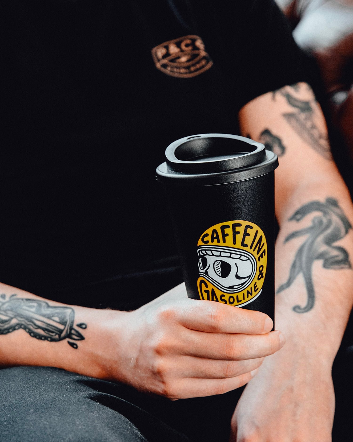 Caffeine & Gasoline Travel Mug