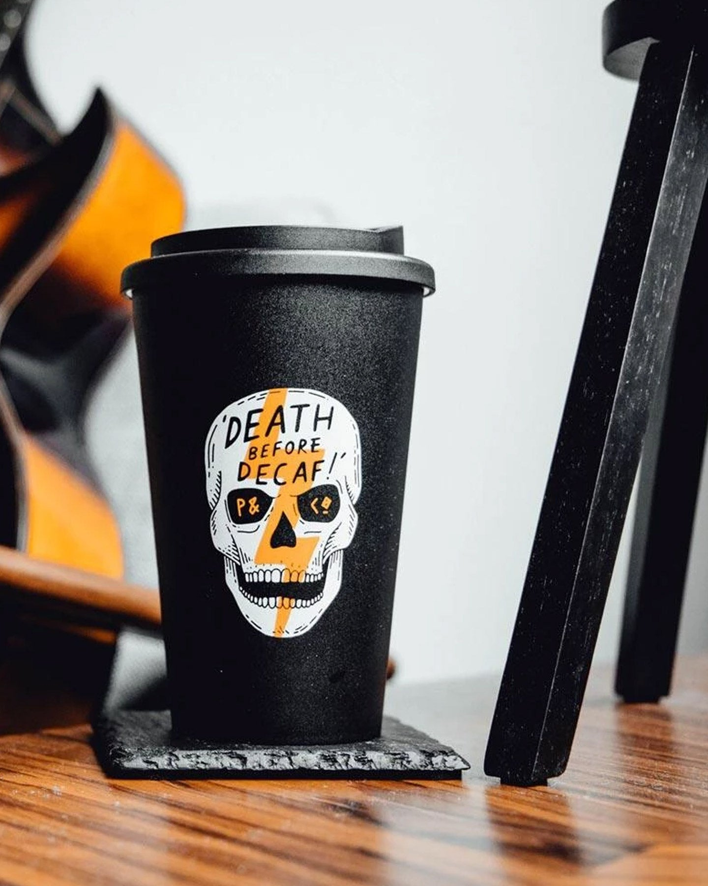 Death Before Decaf Vol. 2 Travel Mug