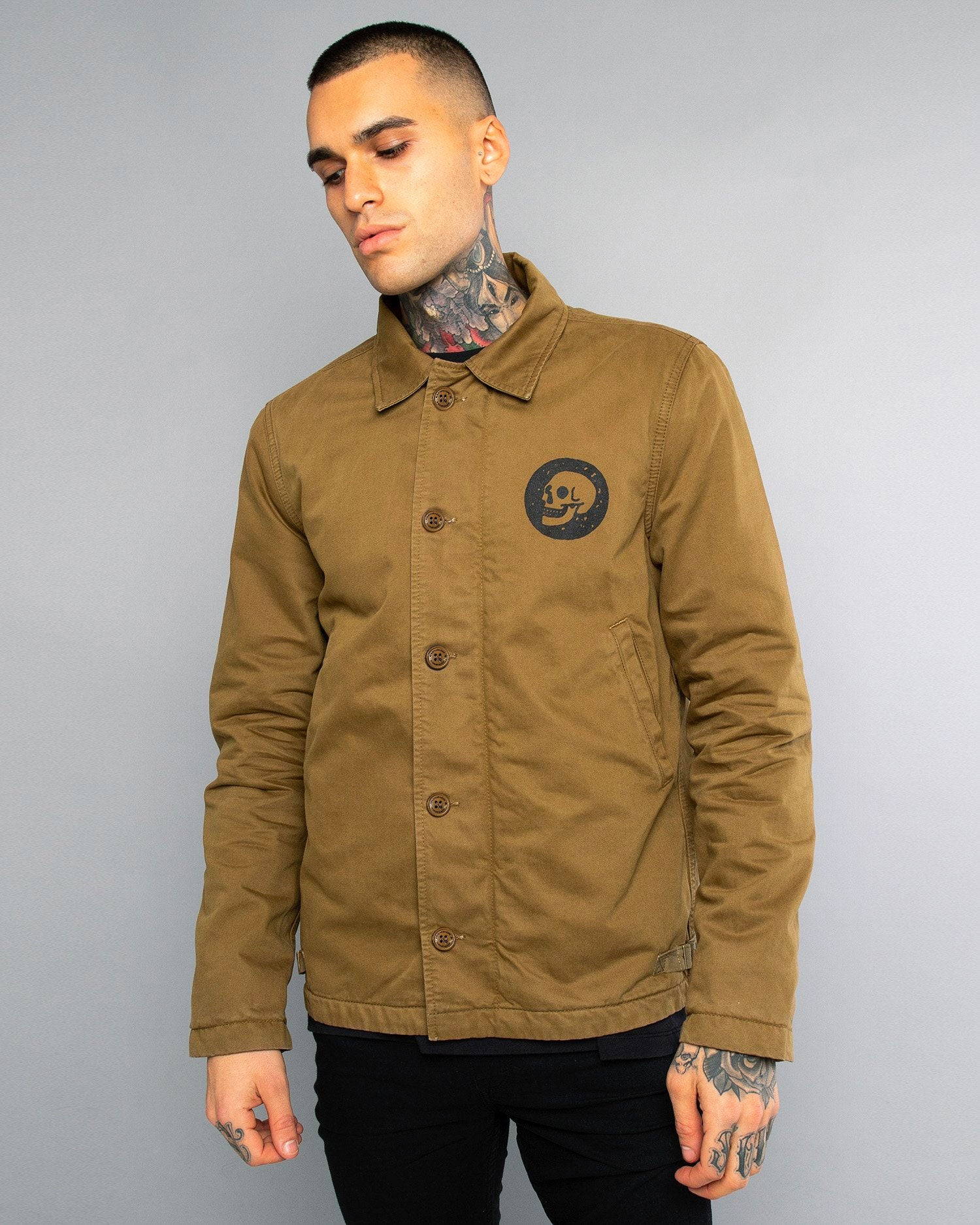 Mens A2 Skulls Deck Jacket
