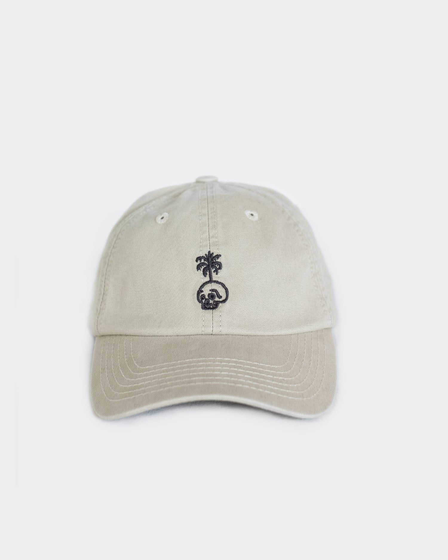 Trouble In Paradise Womens Stone 6 Panel Cap