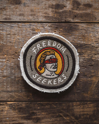 Freedom Seekers Canvas Patch