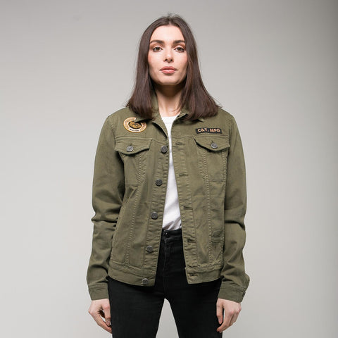 P&Co - Green Womens Lost Cause Jacket - Provision & Co