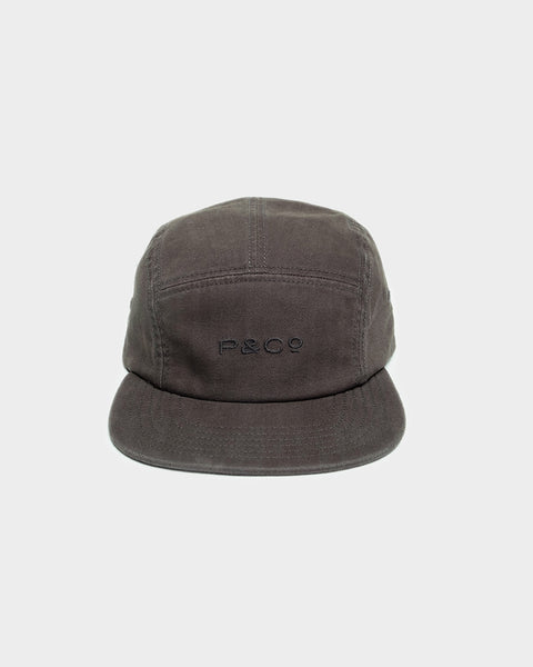 Hold Fast Dark Grey 5 Panel Cap