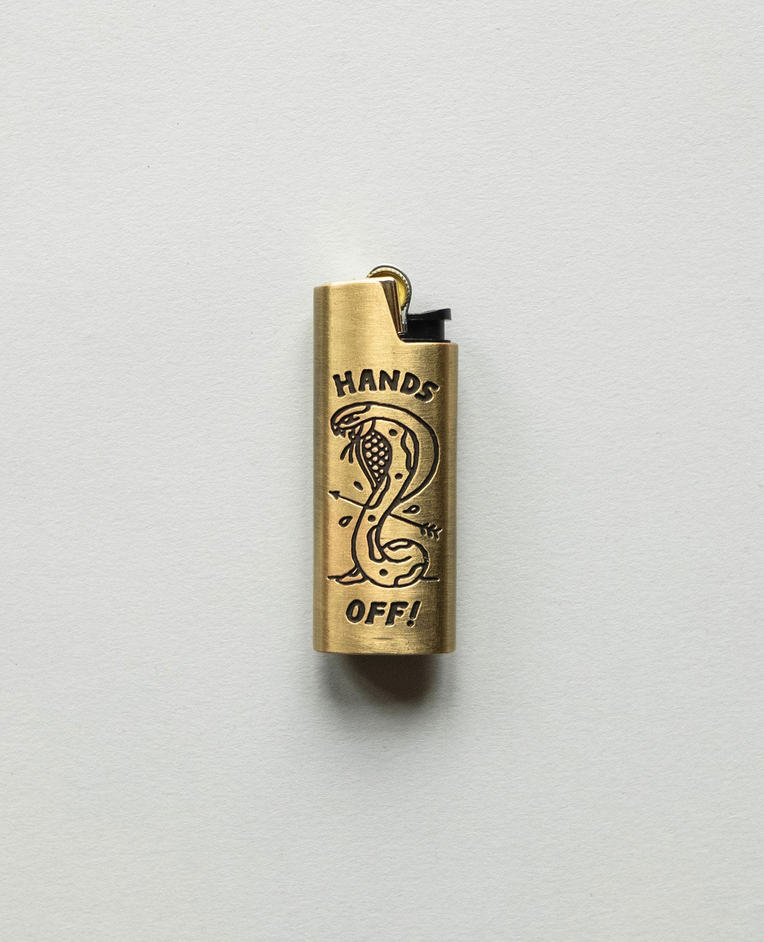 Hands Off Lighter Case