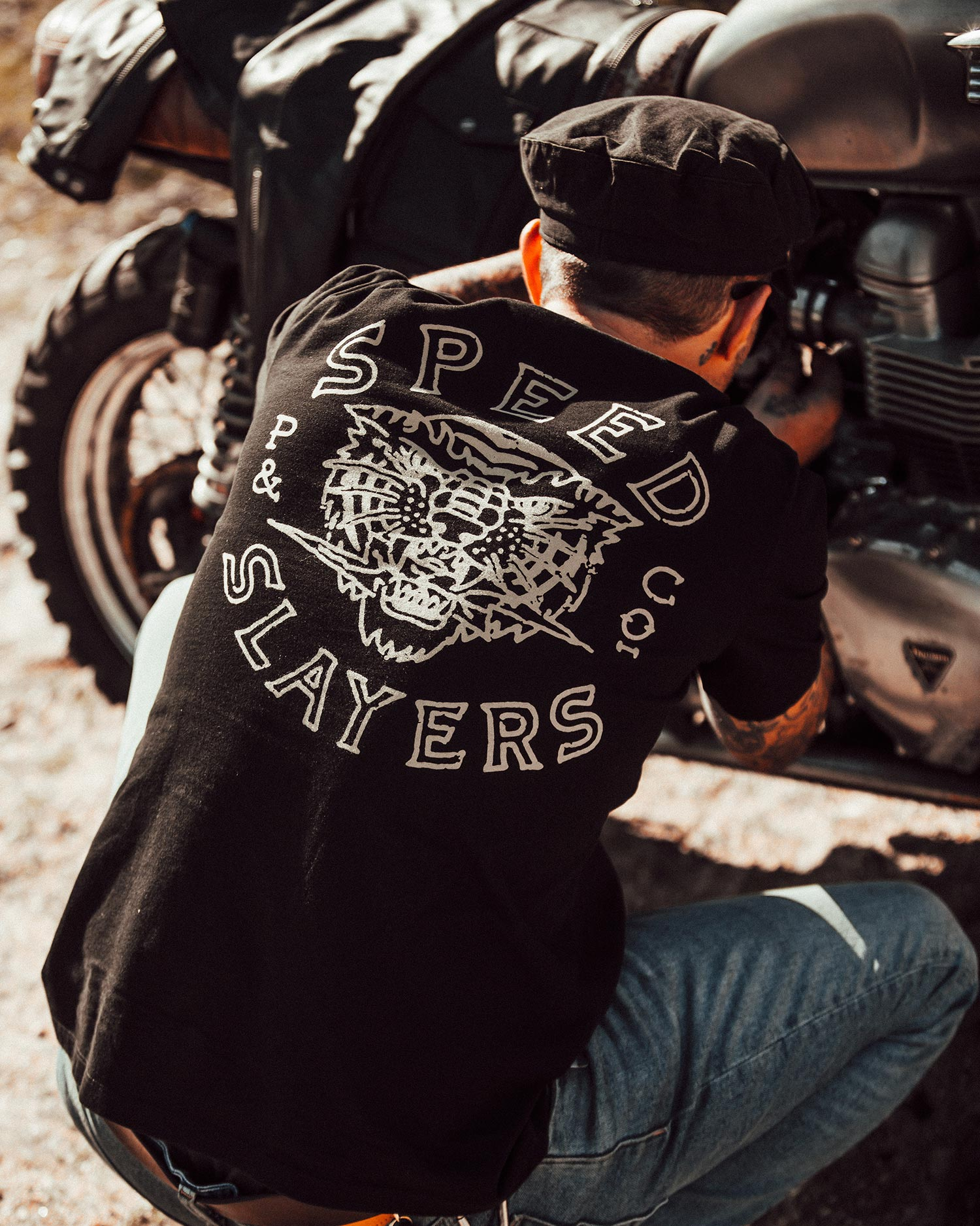 P&Co Speed Slayers Black T-Shirt