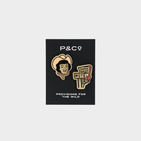 P&Co - Dark Daze Motel Pin Set - Provision & Co