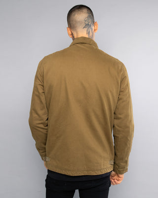 Mens Olive A2 Skulls Deck Jacket