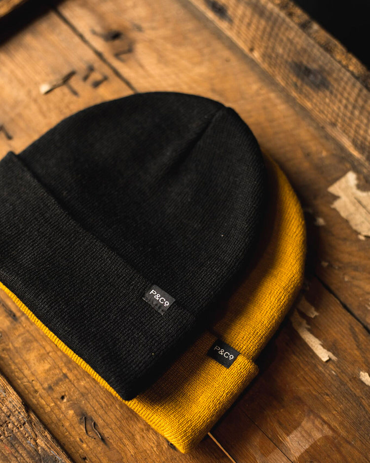 Yellow Origin Beanie
