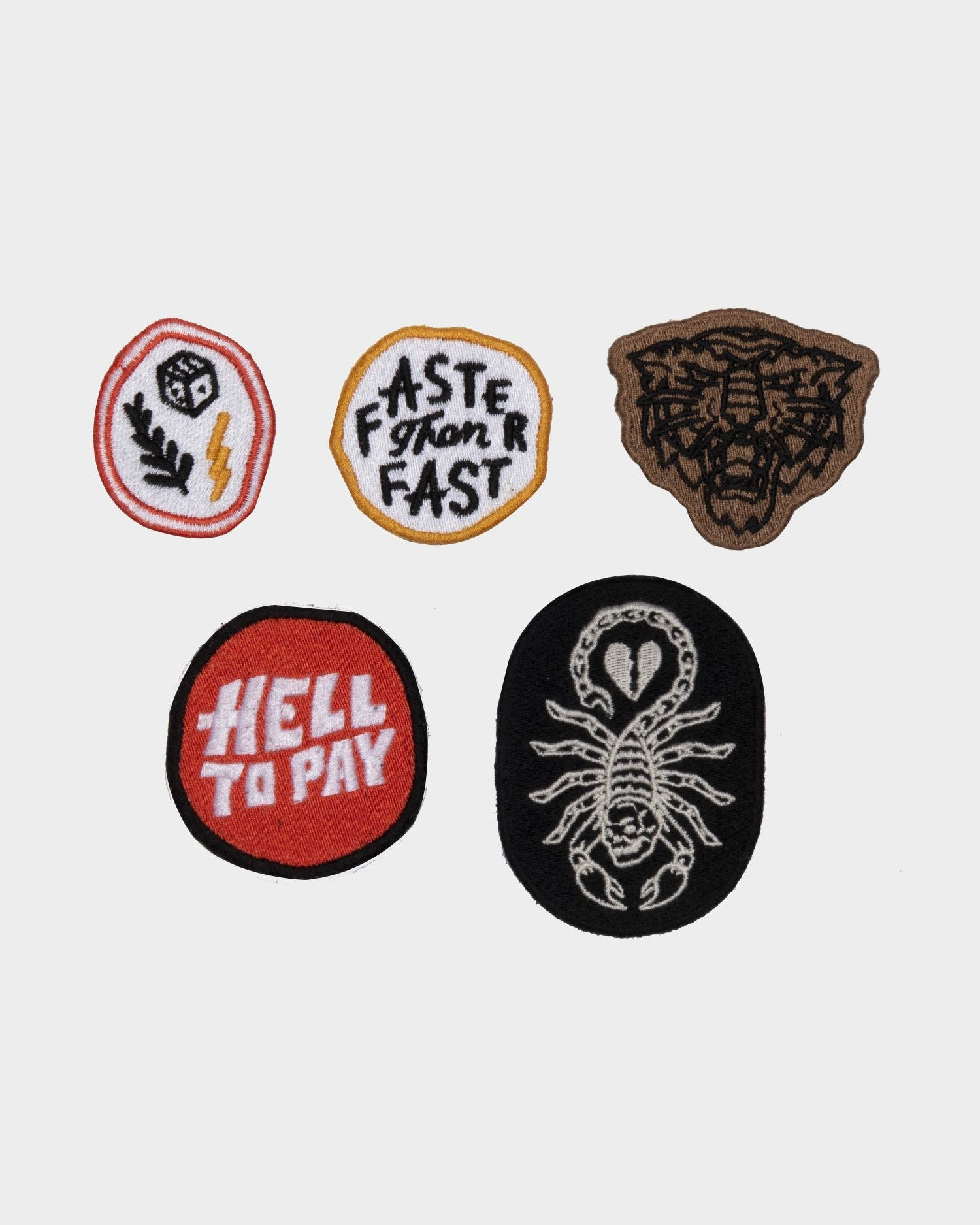 Hell to pay Patch Pack