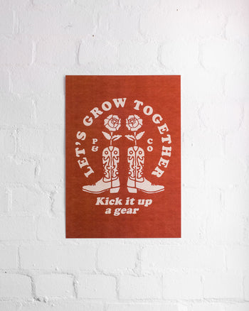 Grow Together A3 Print