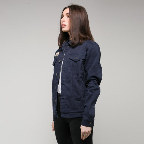 P&Co navy talons and fangs work jacket