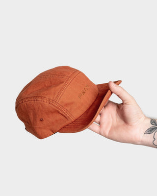 Soft Brim 5 Panel Cap Burnt Orange