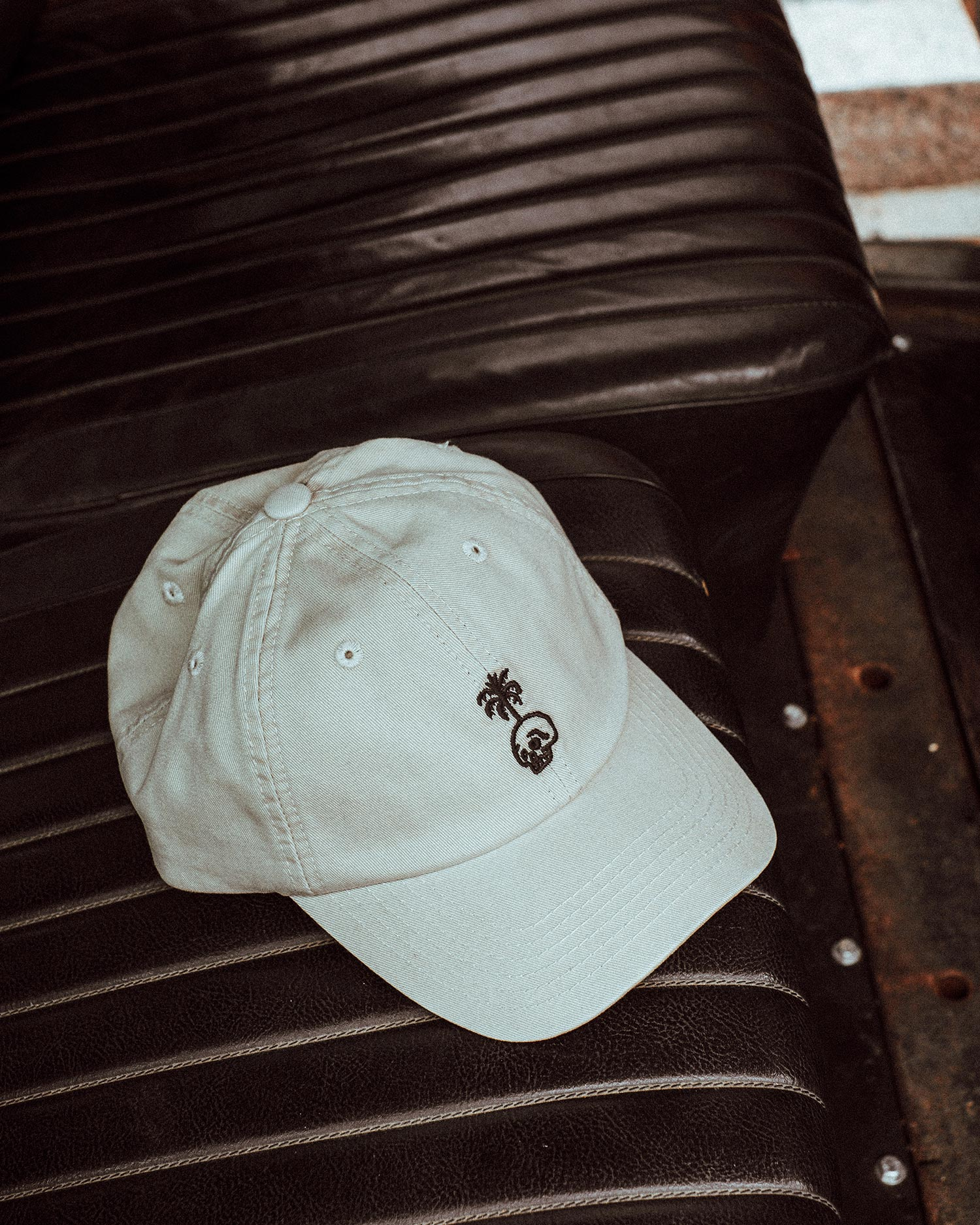Trouble In Paradise Stone 6 Panel Cap