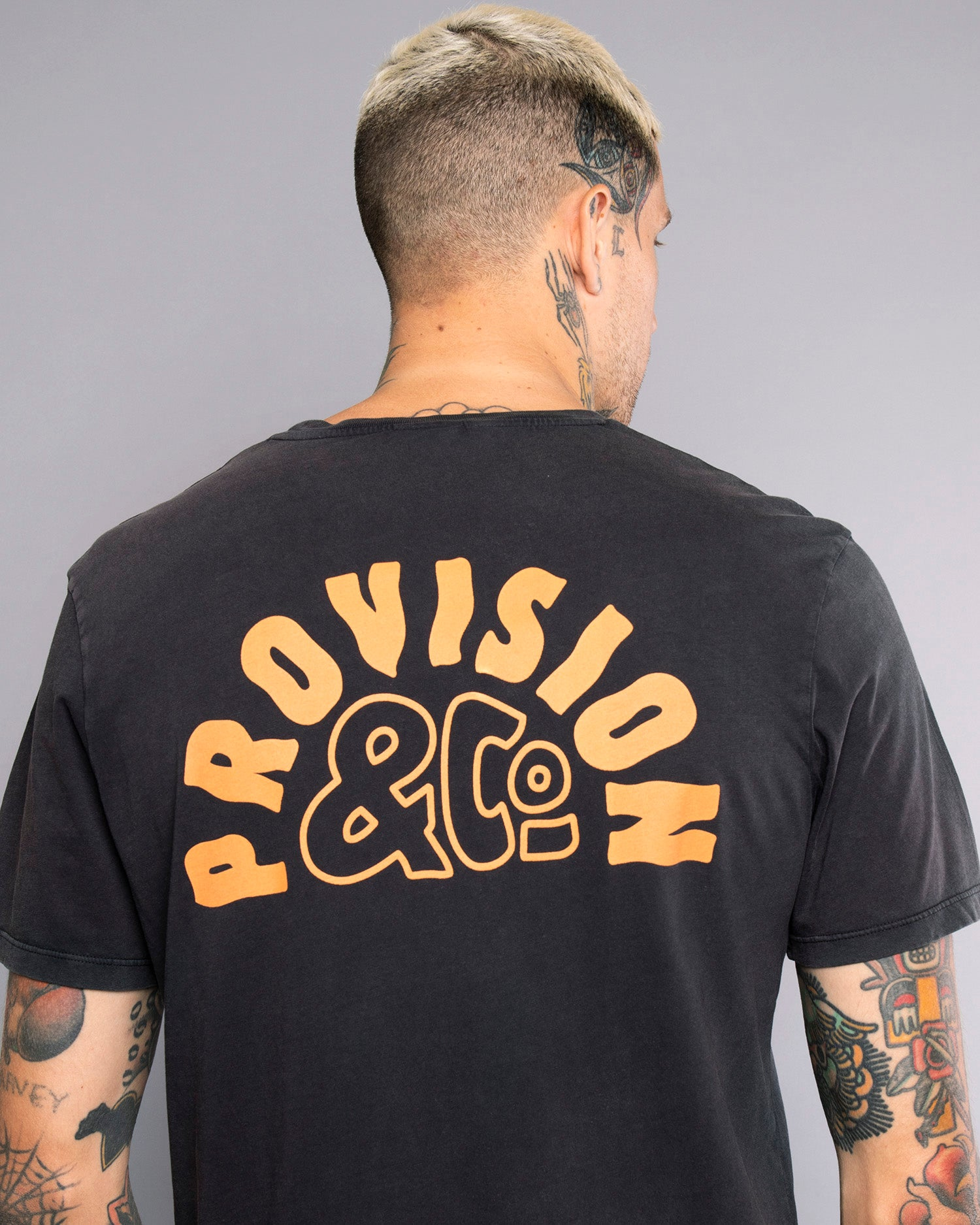 Provision Sunrise Mens Black Tshirt