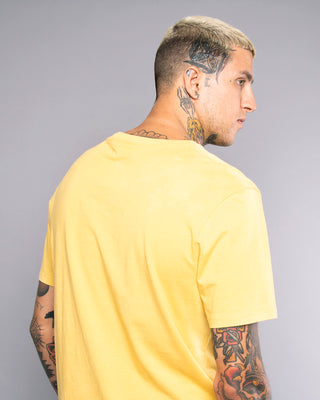 Mens Scorpio Yellow Tshirt