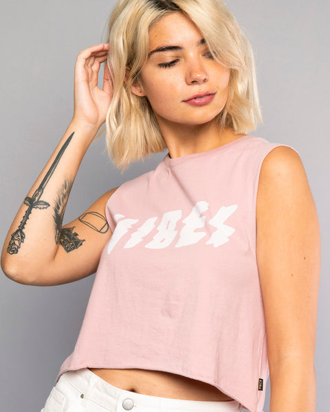 Vibes Pink Tank Top